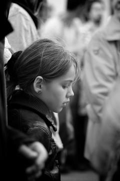 Jeune fille pensive