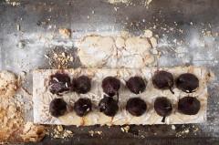 Gâteau aux poires au vin - Recette/stylisme : Patrice Taravella et Stéphane Brunet